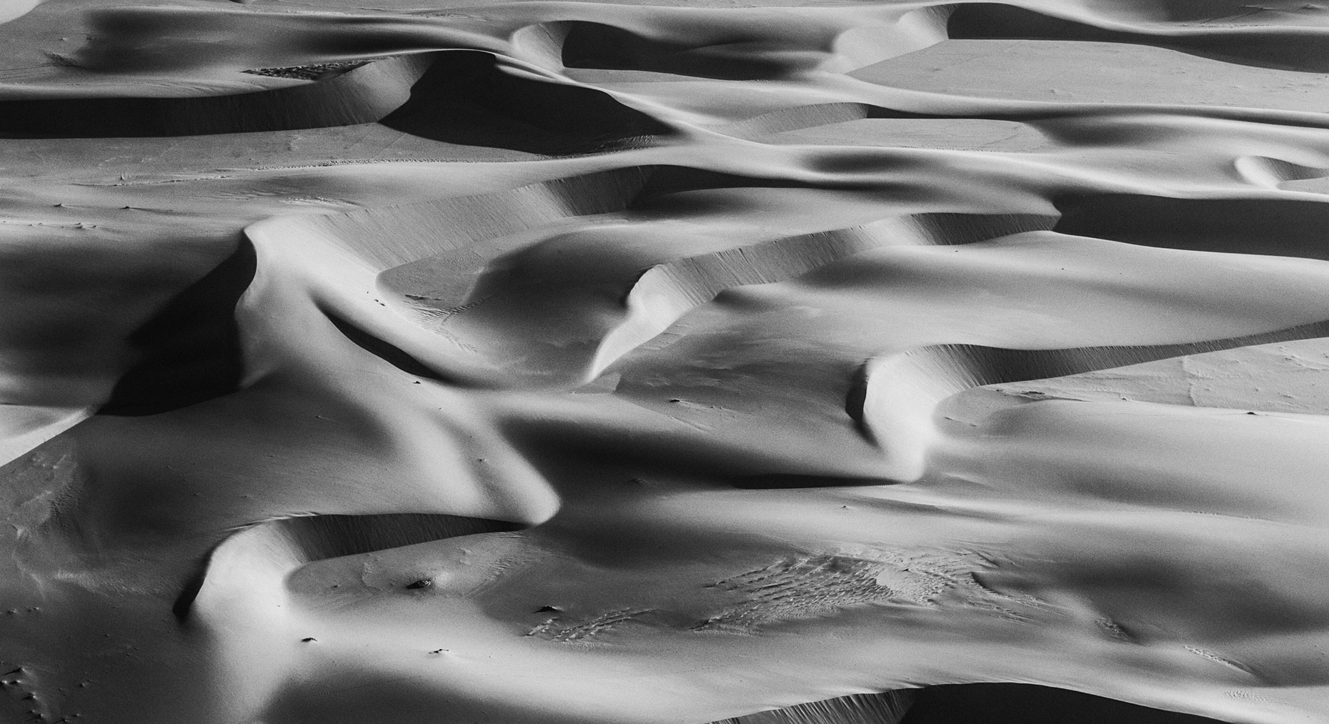 Sand Waves, Namibia, 2006